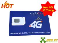 Sim 4G MobiFone Trọn Gói 12 Tháng (4Gb/Tháng) Giá Rẻ Nhất
