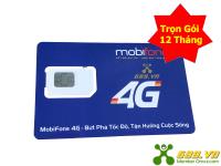 Sim 4G MobiFone Max Băng Thông Trọn Gói 1 Năm