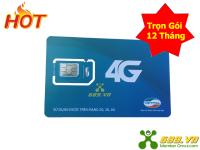 Sim 4G Viettel Trọn Gói 12 Tháng Data Khủng (7Gb/Tháng)
