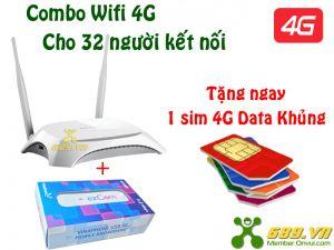 Bộ Phát Wifi 4G TPlink MR3420 Tốc Độ 150Mbps