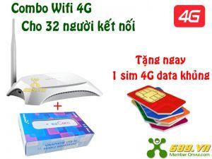 Bộ Phát Wifi 4G TP-Link MR3220 Tốc Độ 150Mbps