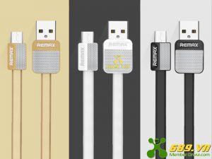 Cable Micro Usb Remax RC 004m Dây Dẹt Chông Rối