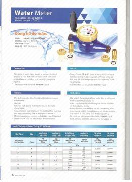 Đồng hồ đo lưu lượng nước Đệ Nhât LXSG DN 15, DN 20, DN 25, DN 32, DN 40,
