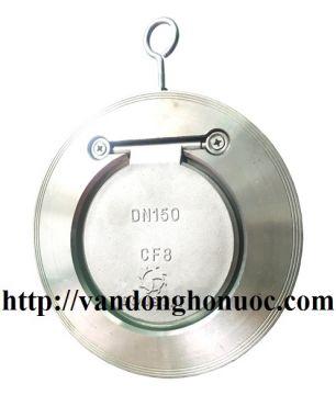 "Van một chiều bản lề Inox SUS 304, PN 16, CF8, DN 50 - DN 300 ( 2 - 12"" inch ) Dong Jin - Korea"