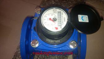 Đồng hồ nước Unik DN200 lắp mặt bích