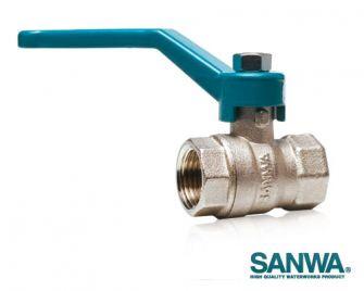 """Van bi 2"""" Sanwa Thái Lan lắp ống phi 60mm"""