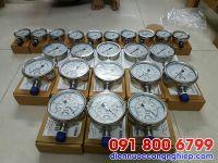Đồng hồ áp suất dầu mặt D40mm