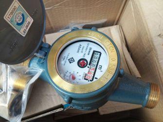 """Đồng hồ nước Asahi DN40 lắp đường ống phi Φ49mm (1½"""")"""
