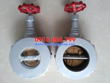 Dual Plate By Pass Type Check Valve (KITZ)