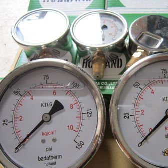 Đồng hồ đo áp suất Badotherm Holland