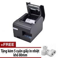 Máy in hóa đơn XPRINTER N160II KHỔ GIẤY 80mm (CỔNG KẾT NỐI USB) Hàng Nhập Khẩu