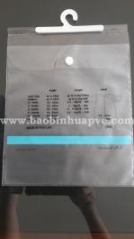 Túi nhựa PVC có móc 06