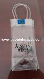 Túi nhựa PVC có quai xách 11