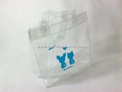 Túi nhựa PVC có quai xách 03