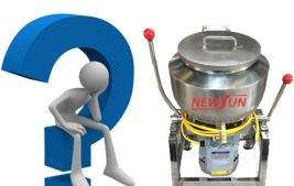 Những điều chưa biết về máy xay giò chả 3kg Newsun?