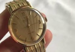 Đồng hồ Omega Seamaster vàng đúc 14K