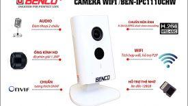 Mở hộp Camera WIFI BEN IPC1110CHW