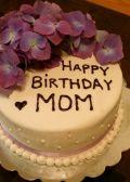 Bánh sinh nhật mẹ