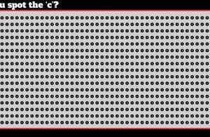 Đến lượt trào lưu tìm chữ (c) trong hình gây sốt