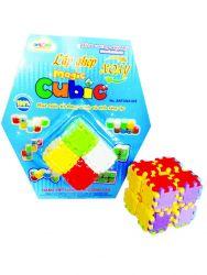 Lắp ghép xoay - Magic Cubic