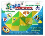 Snake Transformers - Chú rắn biến hình 24 khúc