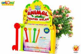 Thước kẻ con vật – Animal shaped ruler bộ 4