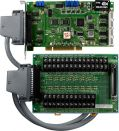 Card Universal PCI 16 kênh đa chức năng 12 bit,tốc độ lấy mẫu 330 kS/s+ DB-8225 daughter board, Cable