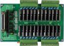 Card PCI 24 kênh Relay bán dẫn đầu ra + DIN-Rail Mounting