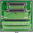 Termination board for RTD module