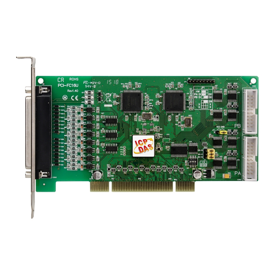 Card Universal PCI 16 kênh Counter/Frequency Board và 32 kênh DIO