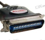 Cable USB -> LPT (Unitek Y120)