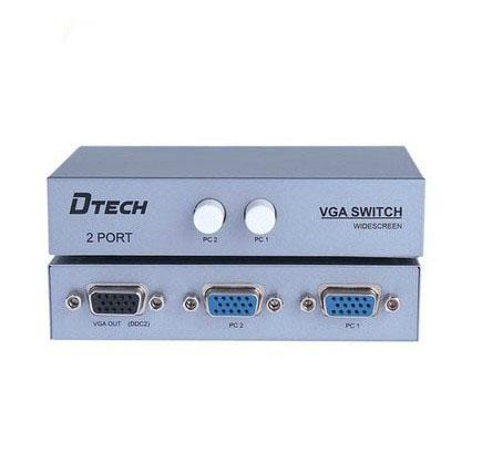 Dtech DT-7032 VGA Switch 2 -1