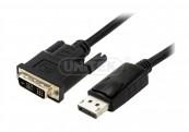 Cáp Displayport -> DVI 1.8m Unitek (Y 5118BA) (M)