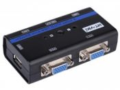 KVM Switch 2Port Auto USB+VGA VIKI MT-262KL
