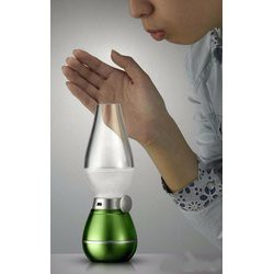 Đèn dầu cảm ứng nhiệt - thổi sáng tắt