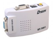 Thiết bị chuyển PC->TIVI Dtech (DT 7001)