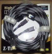 CABLE HDMI Ztek 1.4 ZC 082A 15m