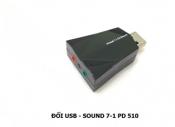 Đổi USB - Sound 7.1 PD 510