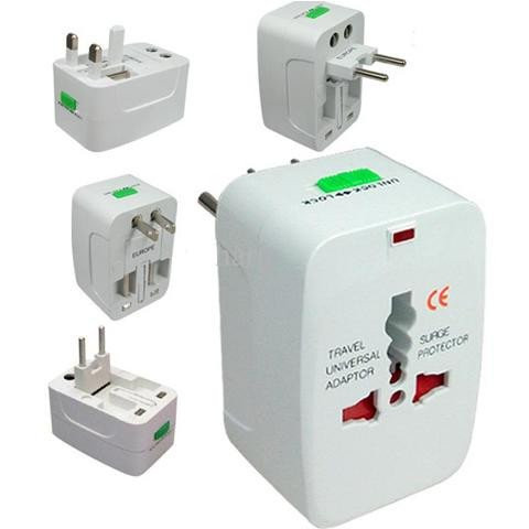 Ổ cắm điện đa năng international adaptor nhiều màu