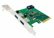 CARD PCI - 2 CỔNG USB 3.1 EXPRESS UNITEK (Y - 7305)