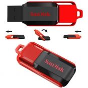 USB SanDisk Cz52 32Gb Dạng xoay