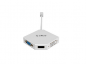 Đầu chuyển đổi Display port sang 3 cổng HDMI DVI VGA Orico DMP-HDV3