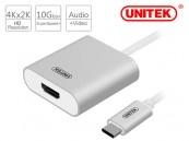 Cáp Type C->HDMI Unitek Y6309