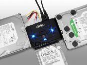 CÁP USB 3.0 to IDE + Sata 2.5 3.5 Unitek (Y3322A)