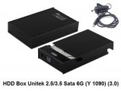 HDD Box Unitek 2.5 3.5 Sata 6G (Y1090) 3.0