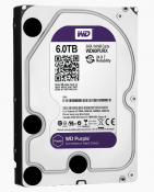 Western Digital Purple - 6TB - 64MB Cache - IntelliPower - SATA 6 Gb/s (WD60PURX)