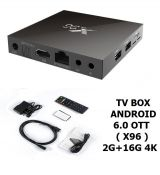 Box TV android x96