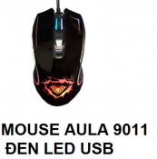 Mouse AULA 9011 Đen Led USB