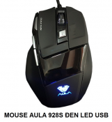 Mouse AULA 928 Đen Led USB