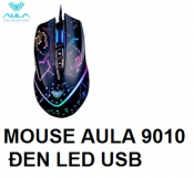 Mouse AULA 9010 Đen Led USB